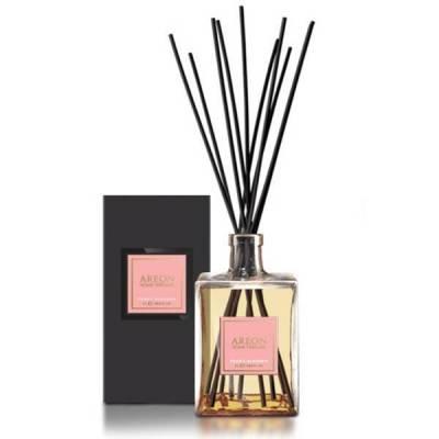 Osvěžovač vzduchu AREON HOME PERFUME BLACK pro ženy, 1000 ml - Peony Blossom