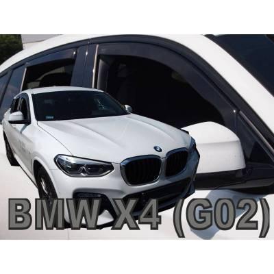 Ofuky - BMW X4 (G02), od 4/2018- (+zadní)